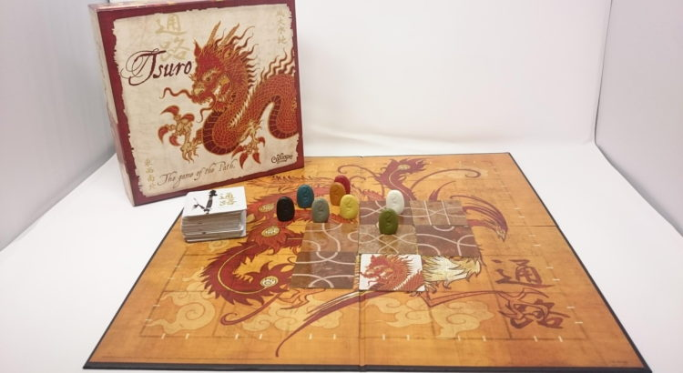 通路:Tsuro The Game of the Path